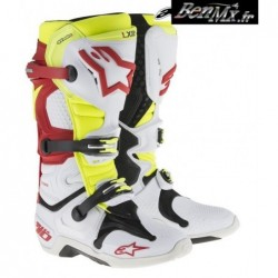 Alpinestars Bottes Bleu Orange Bl 7 Tech WIe9D2bHEY