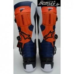 Bottes Alpinestars Tech 7 Noir Orange Blanc Bleu Taille 5US