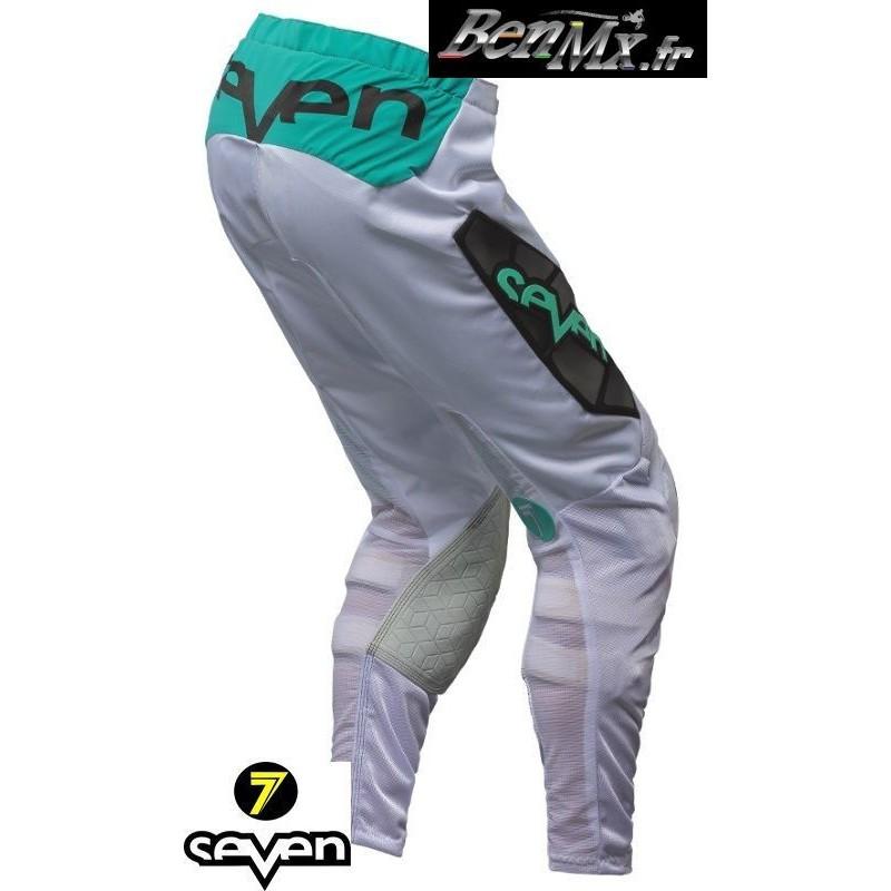 économiser db90d 9c5cd Pantalon Seven Rival Venom Aqua Noir - Taille 28 -BenMx-