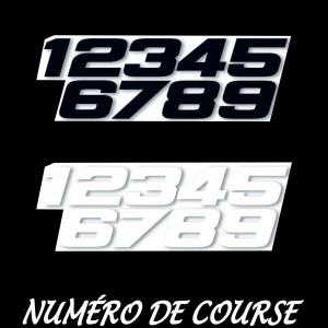 - Numéros de Course -